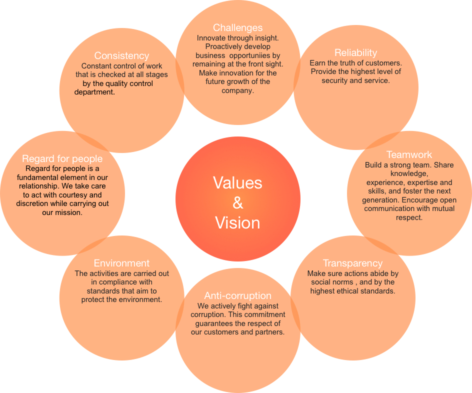 Fankama's Values and vision